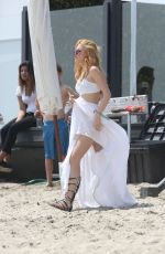 BELLA THORNE in Bikni at at Joel Silvers Memorial Day Party
