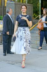 BELLAMY YOUNG Out and About in New York 05/14/2015