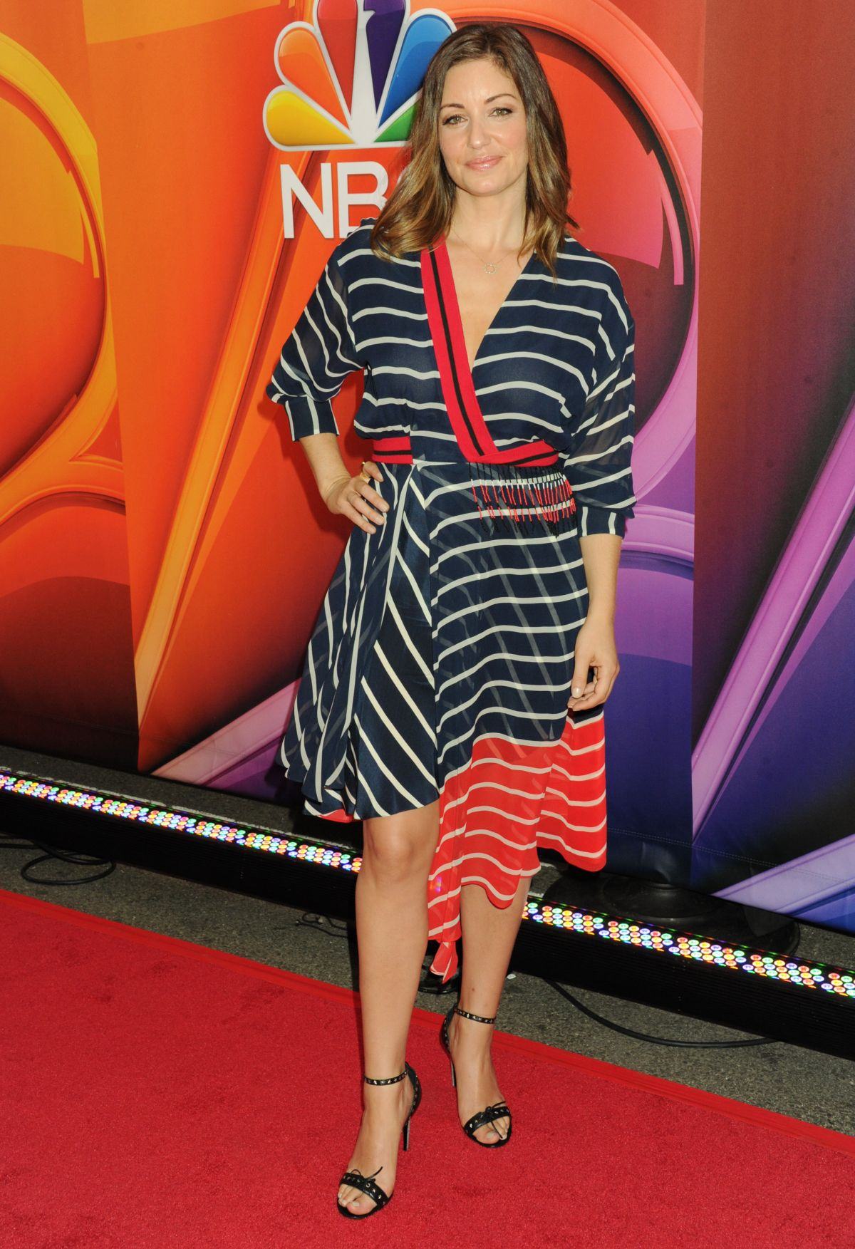 BIANCA KAJLICH at 2015 NBC Upfront Presentation in New York