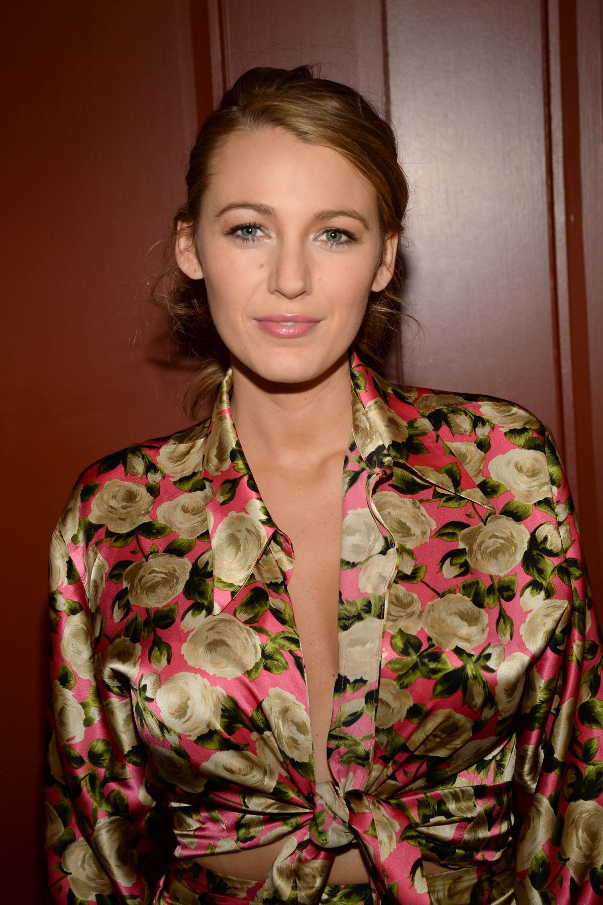 BLAKE LIVELY at preserve.us Promotion in New York