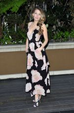 BLAKE LIVELY Promotes The Age of Adeline Movie in Los Angeles 05/07/2015