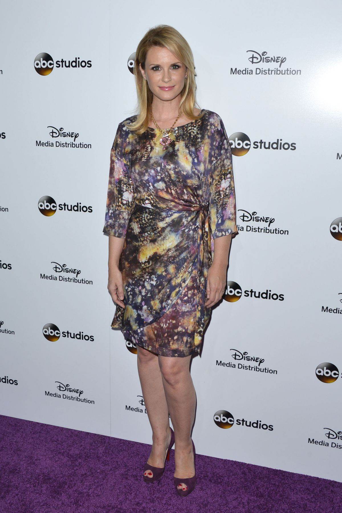 BONNIE SOMERVILLE at Disney Media Distribution 2015 International Upfront in Burbank