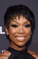 BRANDY NORWOOD at a Tribute to African-american Achievements in Television in New York