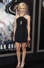 BREANNE HILL at Sand Andreas Premiere in Hollywood