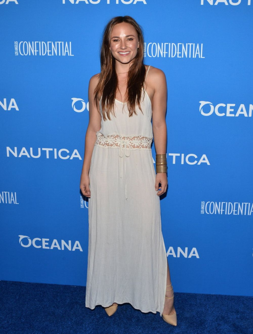 BRIANA EVIGAN at 3rd Annual Nautica Oceana Beach House Party in Santa Monica