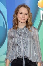BRIDGIT MENDLER at 2015 NBC Upfront Presentation in New York 05/011/2015