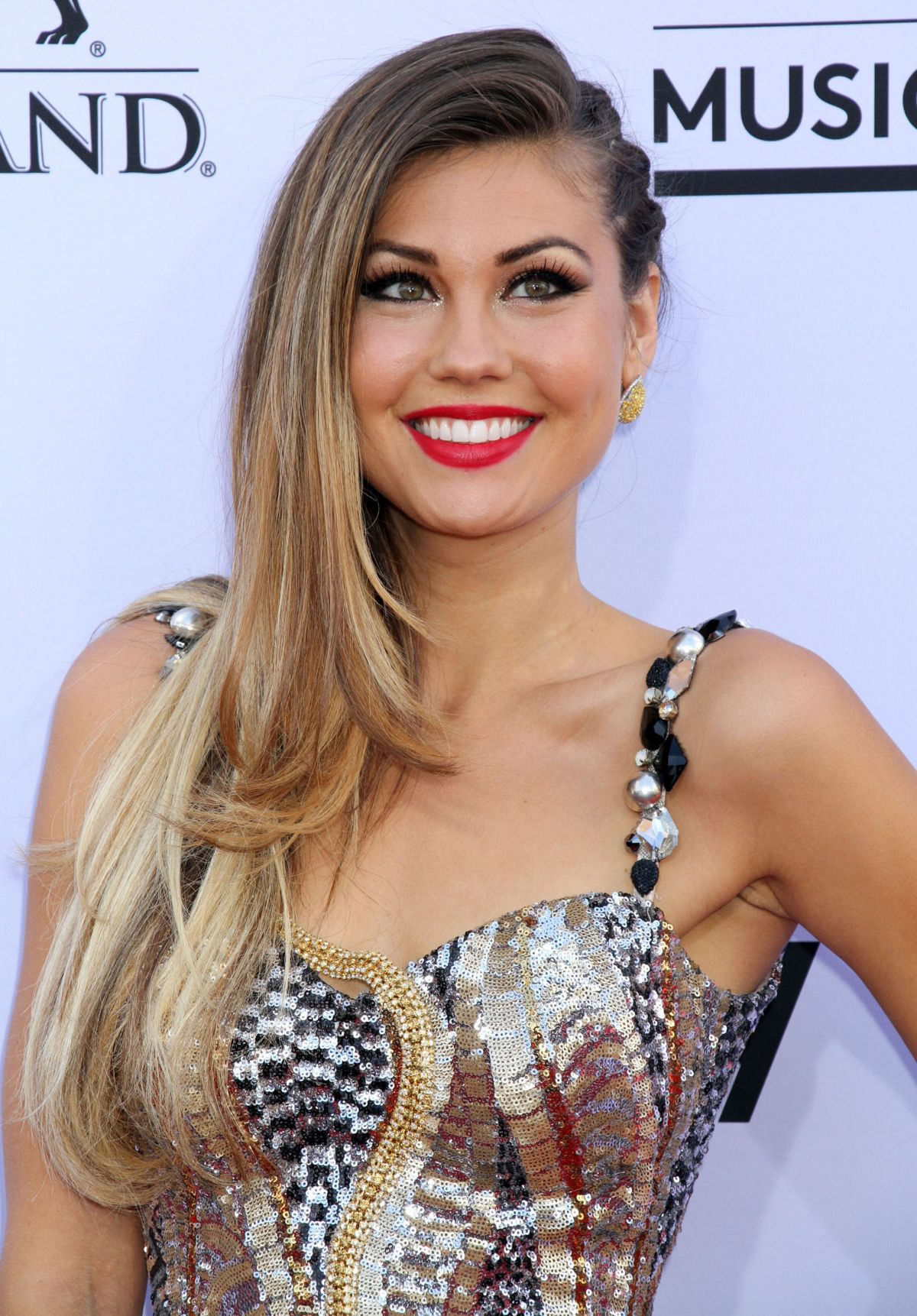 BRITT NILSSON at 2015 Billboard Music Awards in Las Vegas