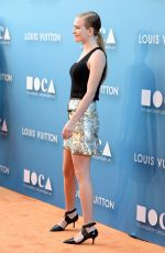 BRITT ROBERTSON at Moca Gala 2015 in Los Angeles