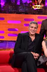 BRITT ROBERTSON at The Graham Norton Show in London