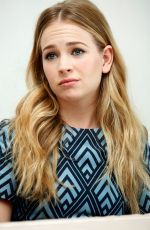 BRITT ROBERTSON at Tomarrowland Press Conference in Beverly Hills