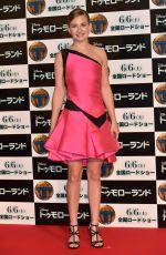 BRITT ROBERTSON at Tomorrowland Premiere in Tokyo