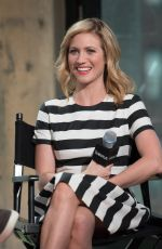 BRITTANY SNOW at AOL Build Speakers Series in New York