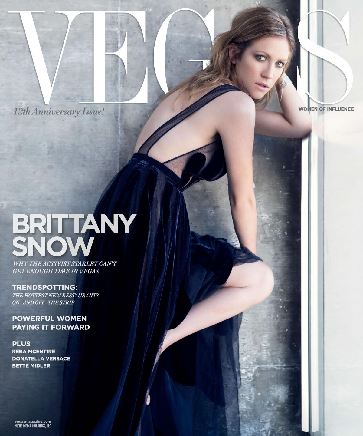 BRITTANY SNOW in Vegas Magazine, Issue 3 May/June 2015