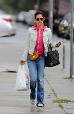 BROOKE BURKE Out and About in Santa Monica 05/14/2015