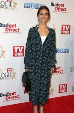 CAITLIN STASEY at Logie Awards in Melbourne