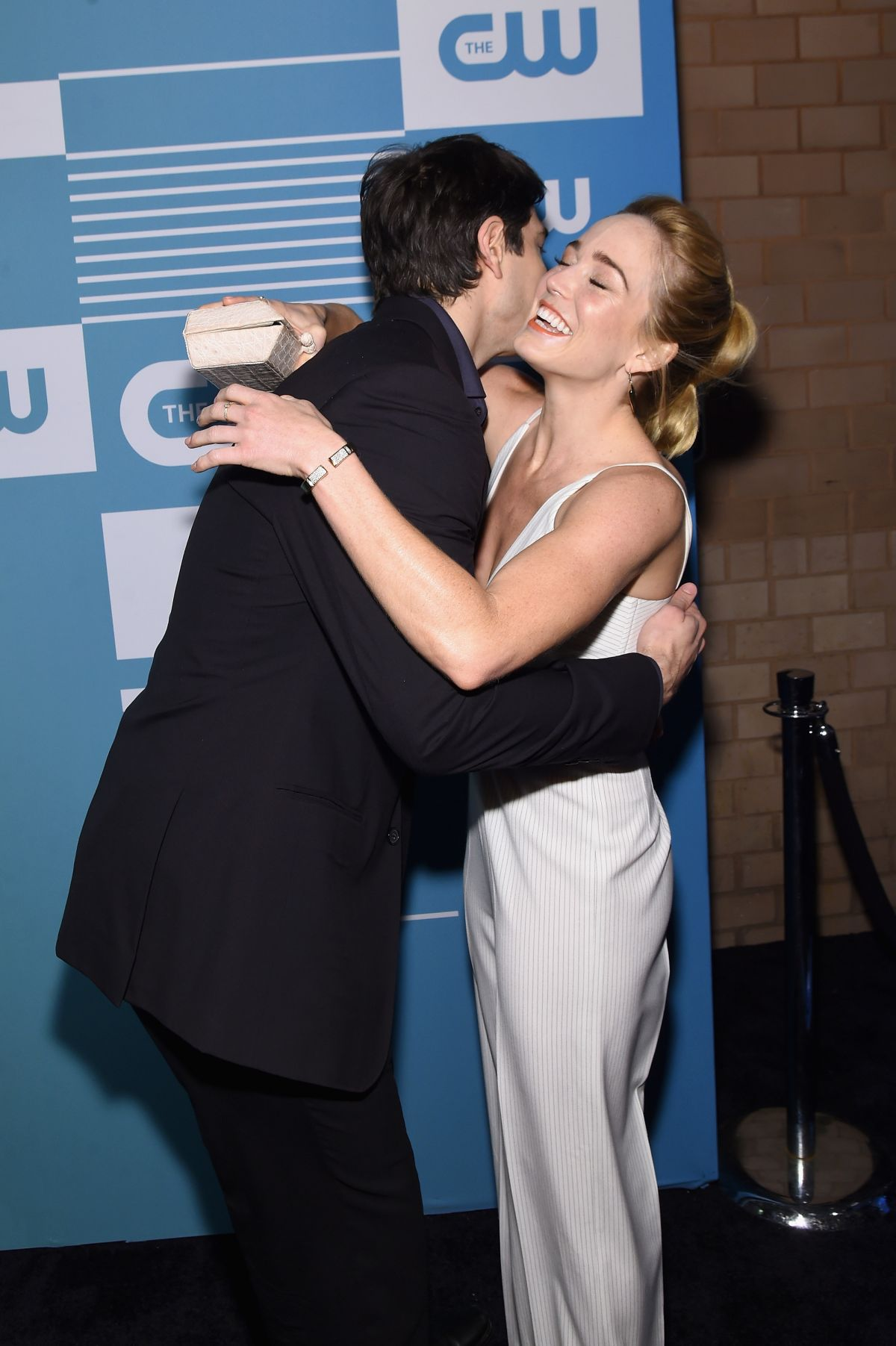Actress Actress Caity Lotz attends The CW Networks New