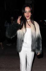 CAMILA CABELLO at Project Club in Los Angeles