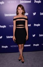 CAMILLA LUDDINGTON at EW and People Celebrate the NY Upfronts in New York