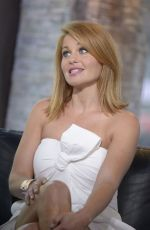 CANDACE CAMERON BURE at VH1 Big Morning Buzz in New York