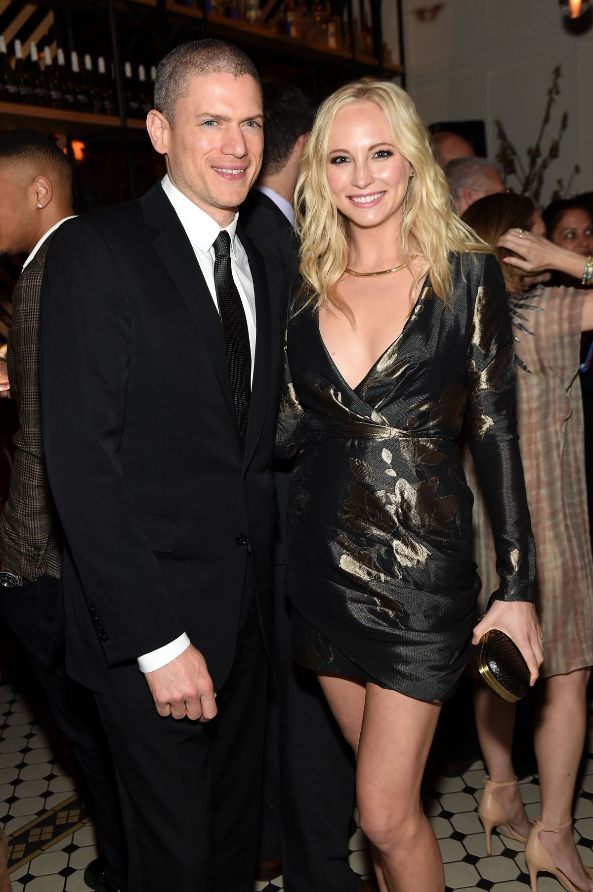 CANDICE ACCOLA at 2015 CW Upfront Party in New York