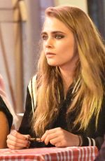 CARA DELEVIGNE at a Dinner with Friends in Cannes