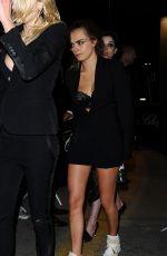 CARA DELEVINGNE Arrives at Gotham Nightclub in Cannes 5/21/15