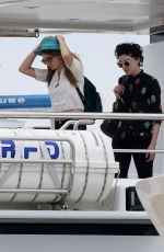 CARA DELEVINGNE Arrives in Vannes 05/19/2015