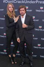 CARA DELEVINGNE at TAG Heuer Formula 1 Party in Monaco