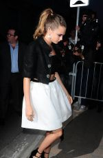 CARA DELEVINGNE at Vanity Fair and Chanel Dinner in Golfe-Juan 05/20/2015
