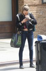 CARA DELEVINGNE Leaves Bowery Hotel in New York 05/15/2015