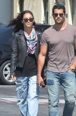 CARA SANTANA and Jesse Metcalfe Out and About in Los Angeles 05/04/2015