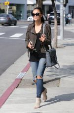 CARA SANTANA Out and About in West Hollywood 05/26/2015