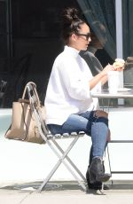 CARA SANTANA Out for Lunch in Los Angeles 05/12/2015