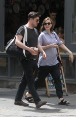 CAREY MULLIGAN and Marcus Mumford Out in New York 05/12/2015