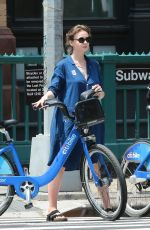 CAREY MULLIGAN Out and About in New York 05/28/2015
