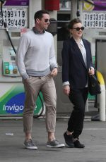 CAREY MULLIGAN Out Shopping in New York 05/01/2015