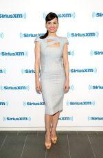 CARLA GUGINO at SiriusXM Studios in New York 05/11/2015