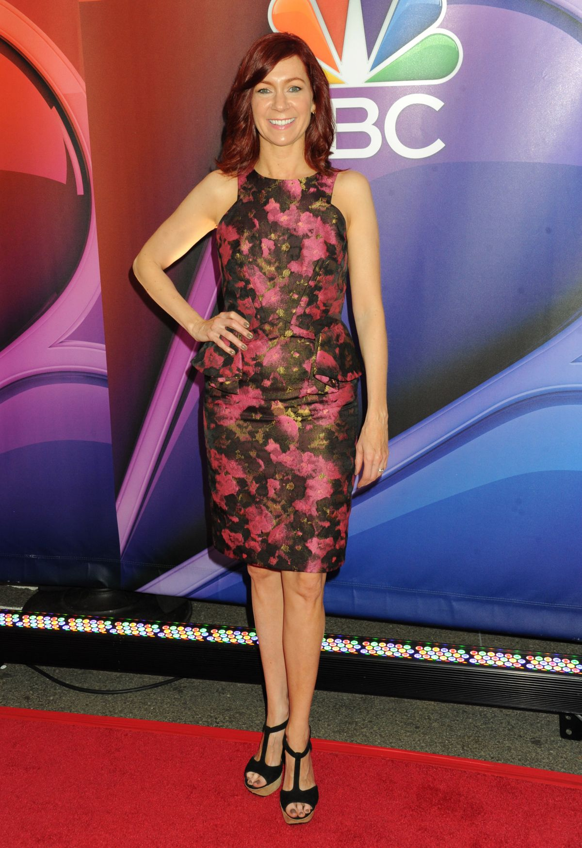 CARRIE PRESTON at 2015 NBC Upfront Presentation in New York