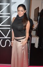 CASEY BATCHELOR at Skinny Tan Beauty UK Show in Birmingham