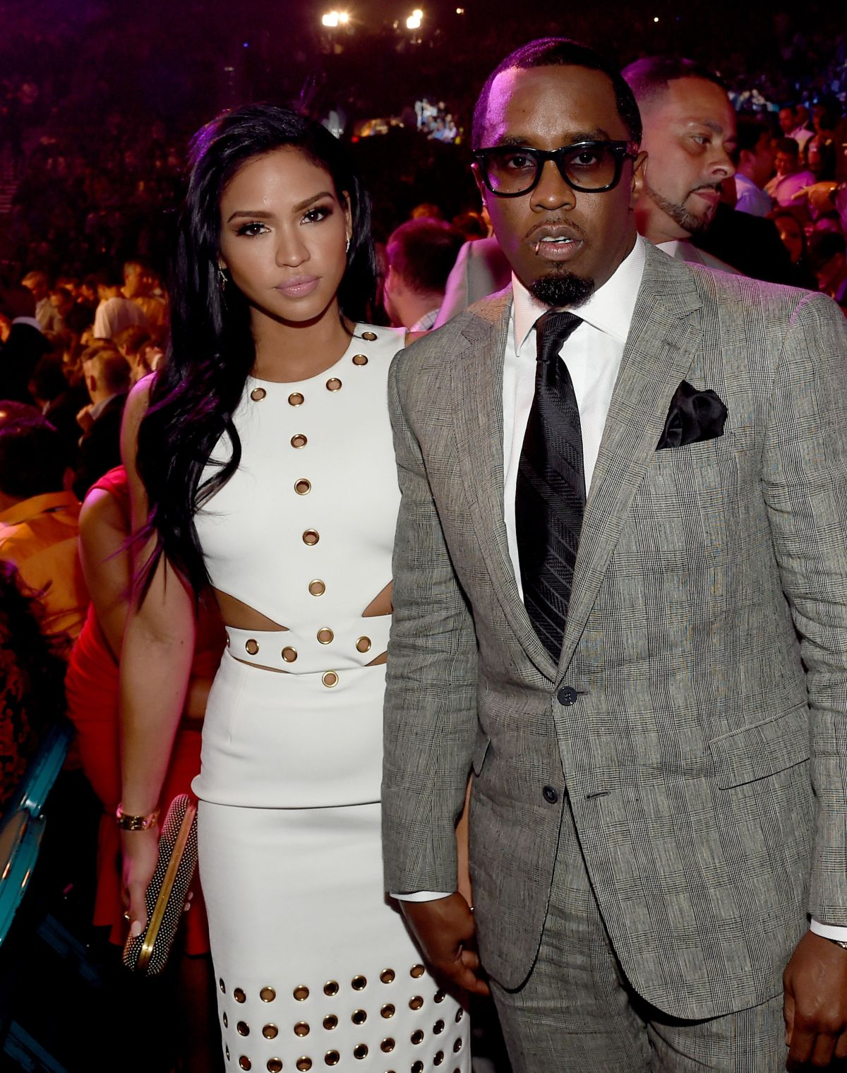 CASSIE VENTURA at Mayweather vs Pacquiao Boxing Match in Las Vegas