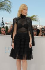 CATE BLANCHETT at Carol Photocall in Cannes