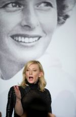 CATE BLANCHETT at Carol Press Conference at Cannes Film Festival