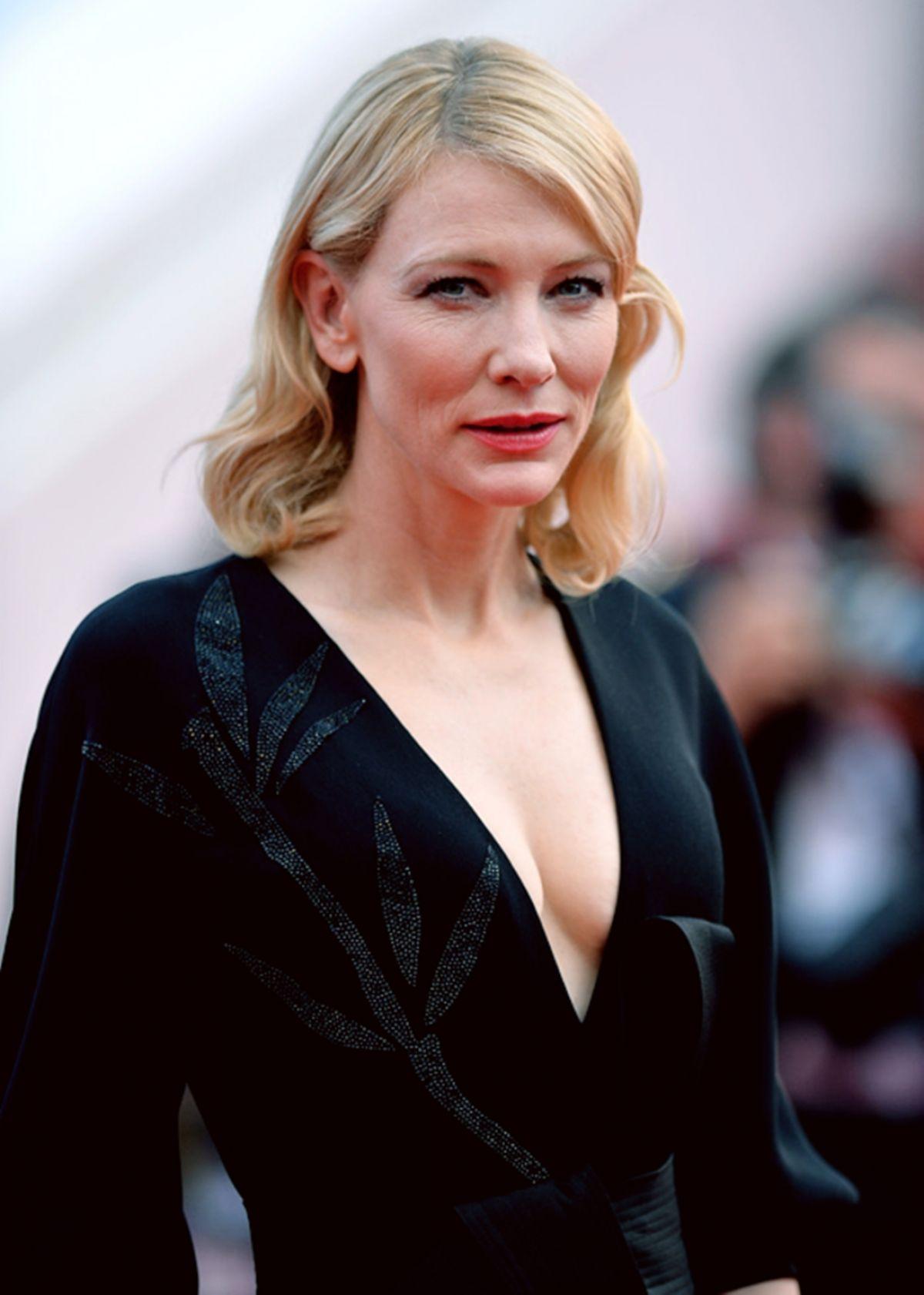 CATE BLANCHETT at Sicario Premiere at Cannes Film Festival