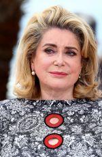 CATHERINE DENEUVE at La Tete Haute Photocall at 2015 Cannes Film Festival