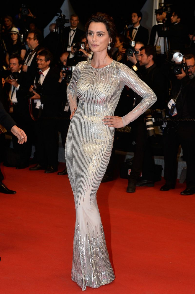 CATRINEL MENGHIA at The Tale of Tales Premiere at Cannes Film Festival