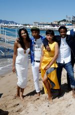 CHANEL IMAN at Dope Photocall at 2015 Cannes Film Festival