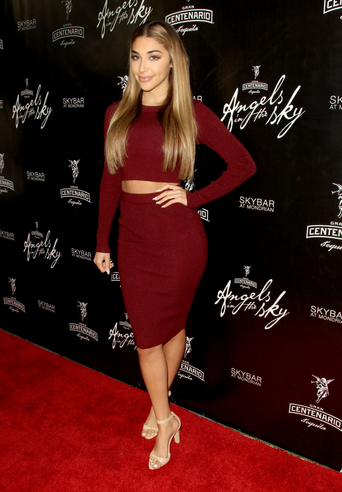CHANTEL JEFFRIES at Gran Centenario Tequila Presents Angels in the Sky in West Hollywood