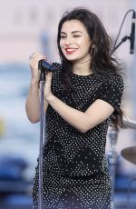 CHARLI XCX at Le Grand Journal in Cannes