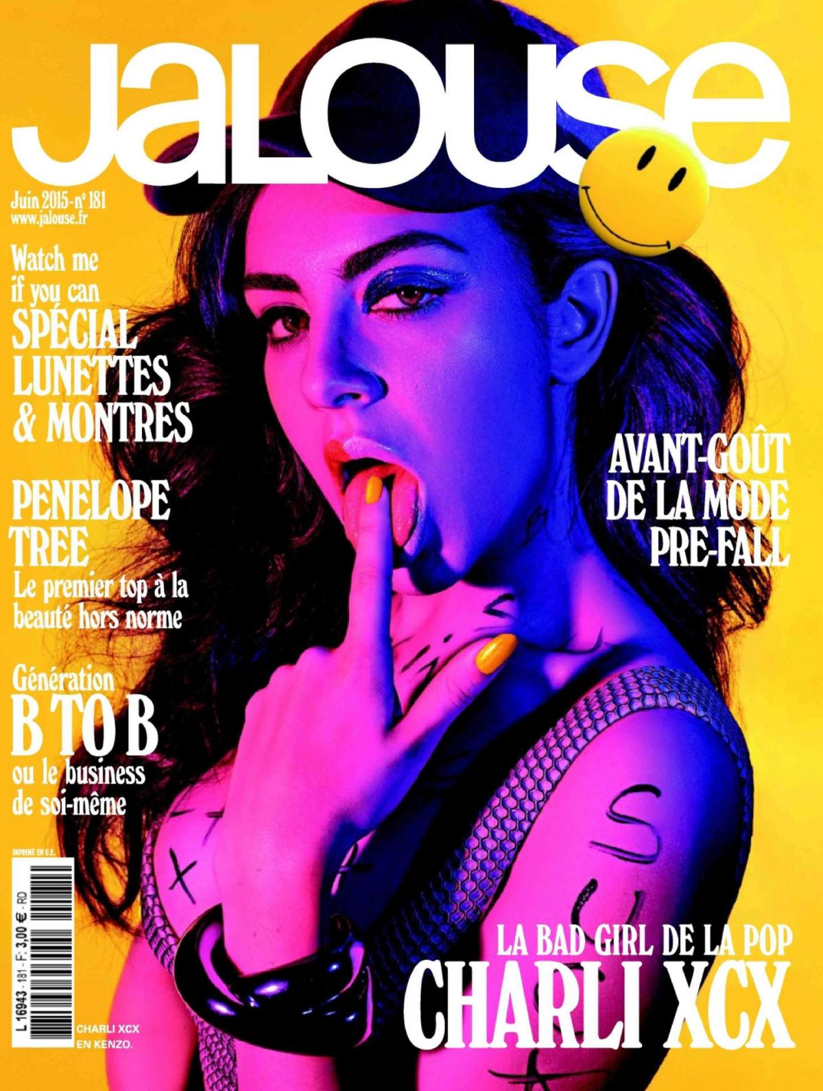 CHARLI XCX in Jalouse Magazine, June 2015 Issue