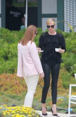 CHARLIZE THERON at Eden Roc Hotel in Cannes 05/13/2015